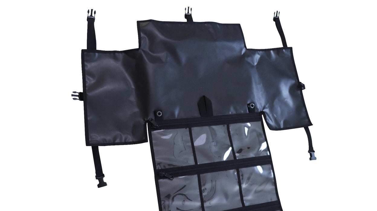 PackRoll (BLACK) Non-Modular Bug Out Roll