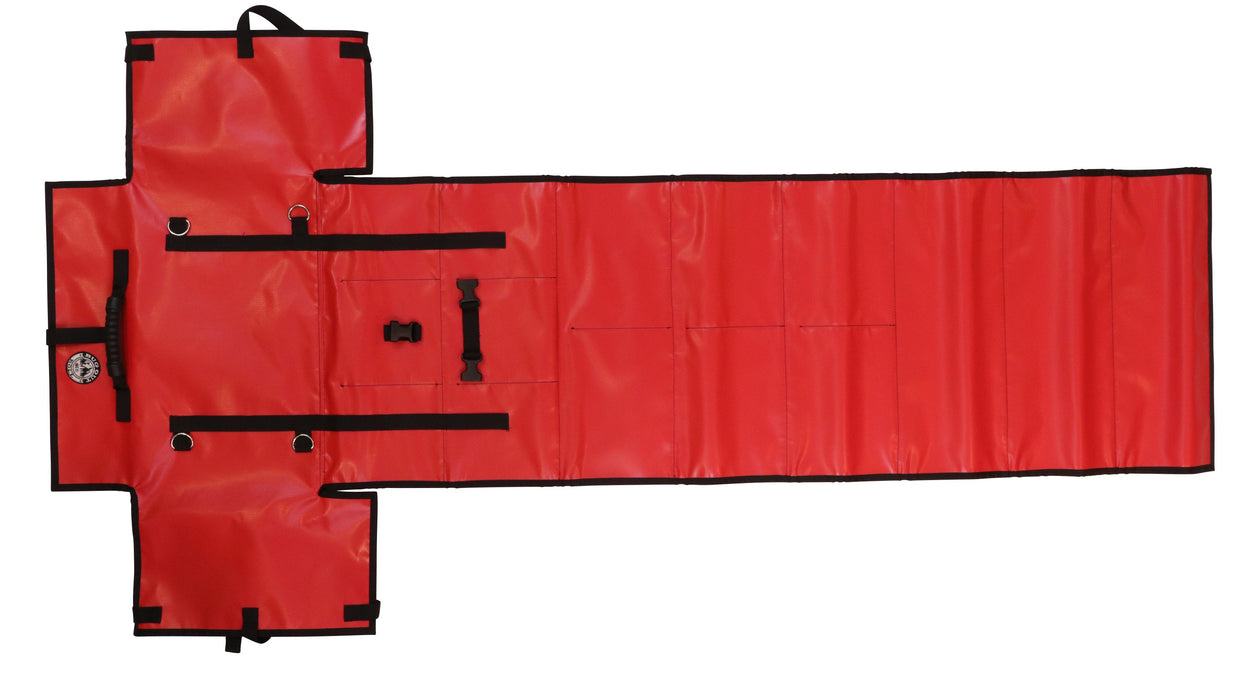 NEW! PackRoll (FIRST AID RED) Non-Modular Bug Out Roll