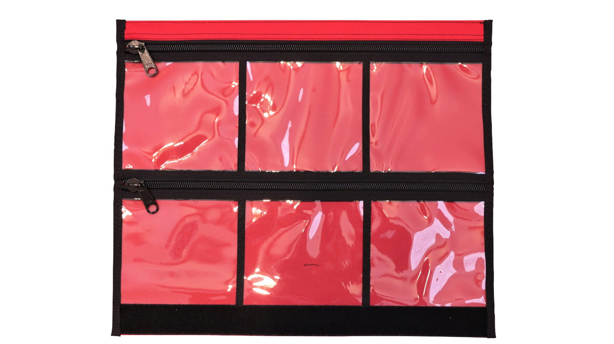 6 window Vinyl Mod for the Bug Out Roll in a First Aid Red.