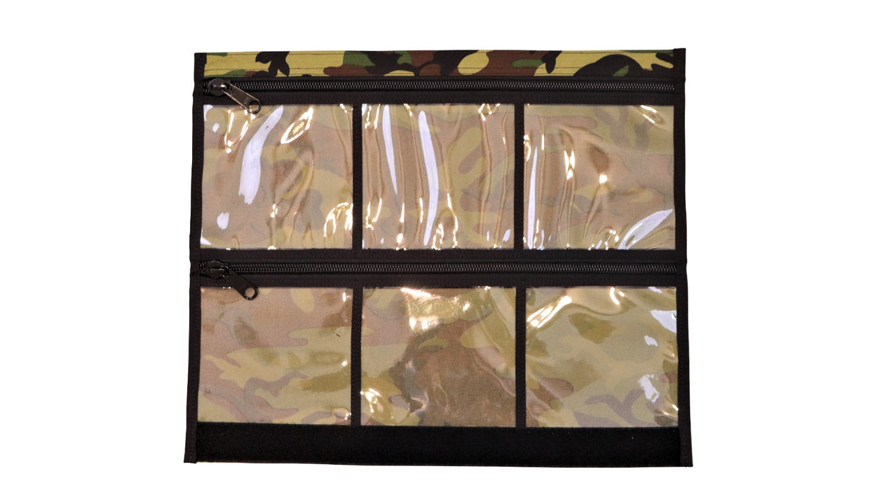 6 window Vinyl Mod for the Bug Out Roll in a Army camo design.