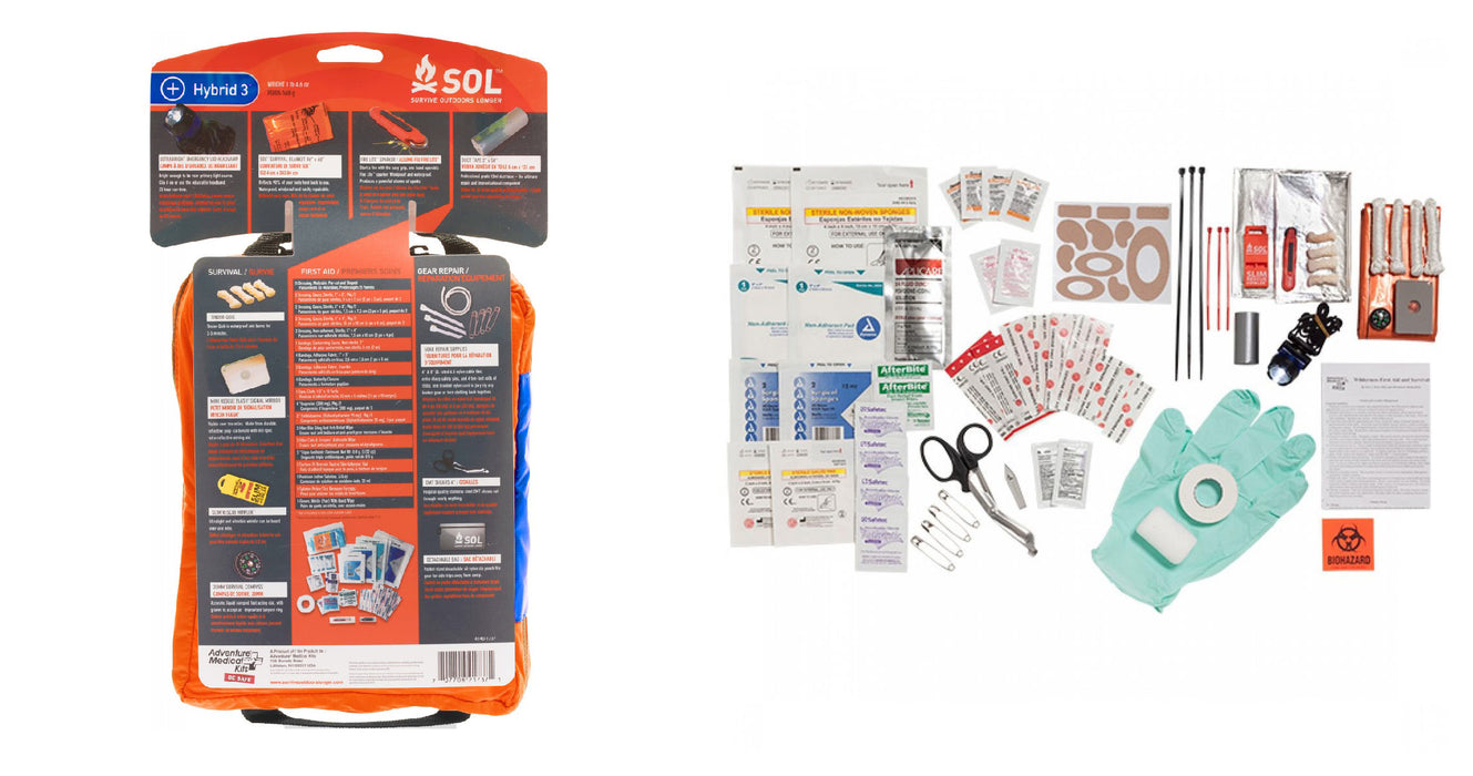 S.O.L. Hybrid 3 in 1 Survival Kit