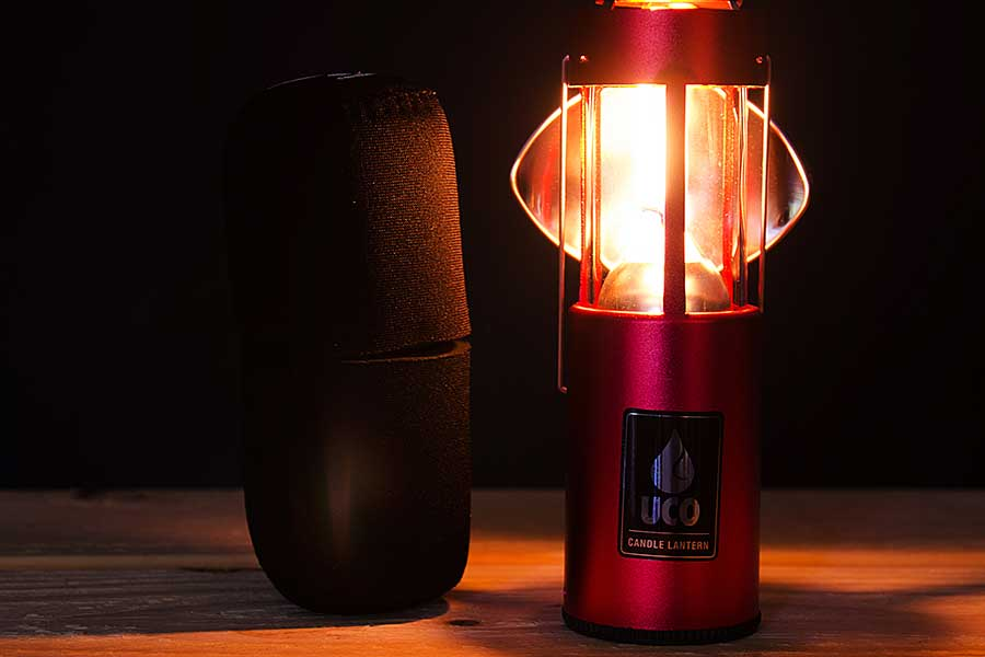 UCO Candle Lantern Kit , REFLECTOR & COCOON CASE COMBO
