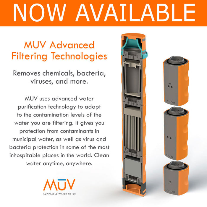 MUV Survivalist Water Filter