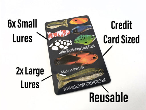 Survival Card- Fishing Lure Card