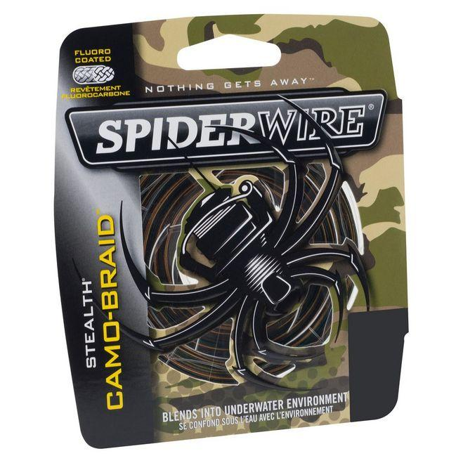 Camo Braid Stealth Fishing Line (Braided) (125 Yards)