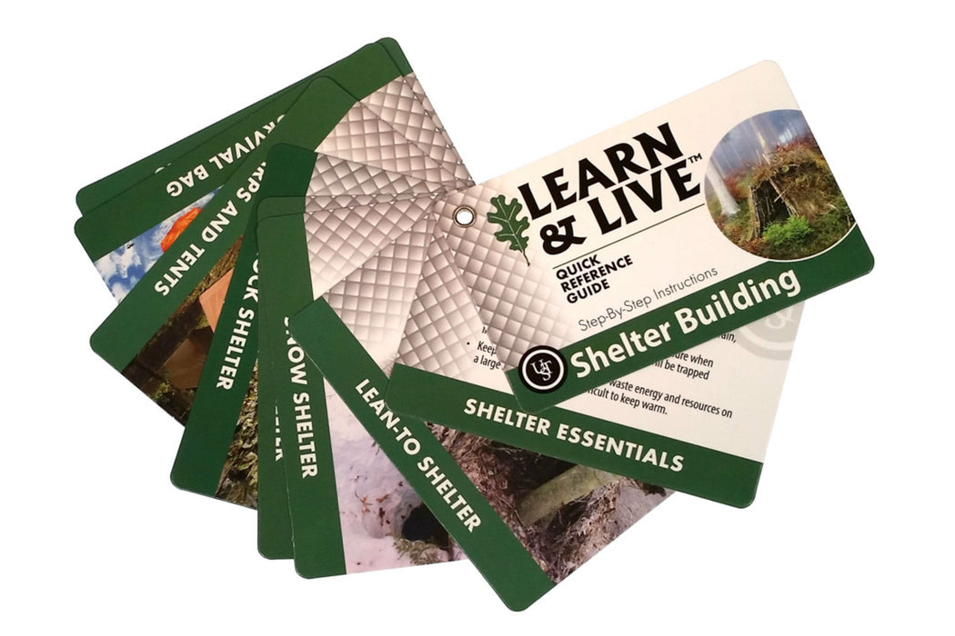 UST Learn & Live™ Cards – Shelter Building