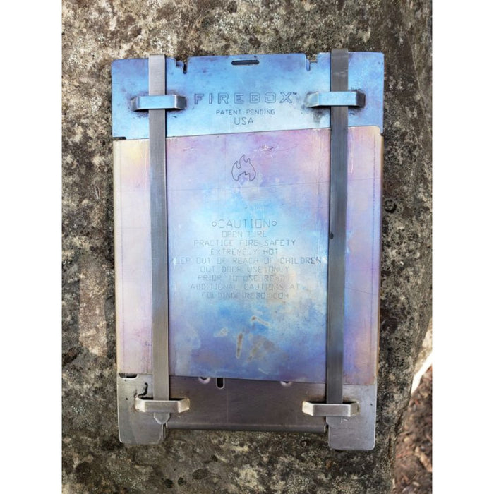 Titanium Firebox Stove COMPLETE KITS Gen 2 (Very Limited Stock)
