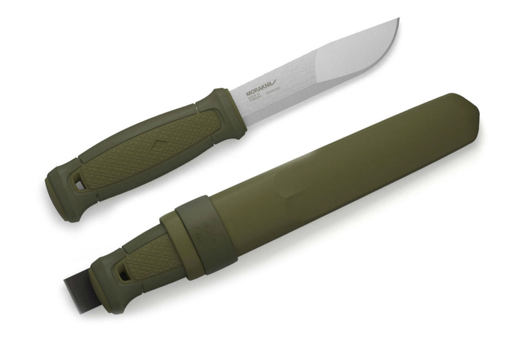 Morakniv Kansbol Fixed Blade Knife with Sandvik Stainless Steel Blade and w/ Standard Sheath