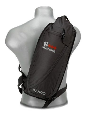 Geigerrig Rig Bando Hydration Pack over a mannequins shoulder.