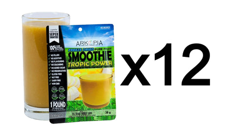 Arkopia Freeze Dried Smoothies | 25 Year Shelf Life (12 PACK)
