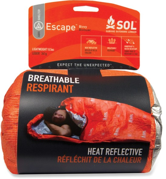 Survive Outdoors Longer- Escape Bivvy (CHOOSE COLOR)