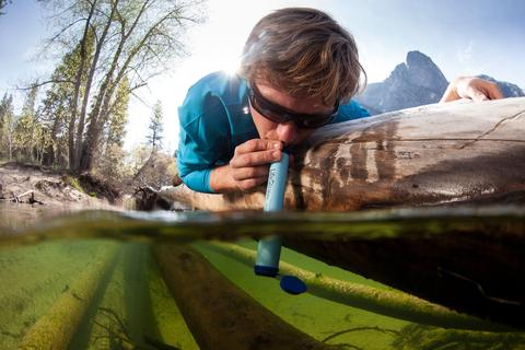 Lifestraw- Personal Water Filter (Green)