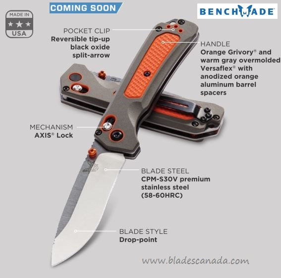 Benchmade Grizzly Ridge Folding Knife