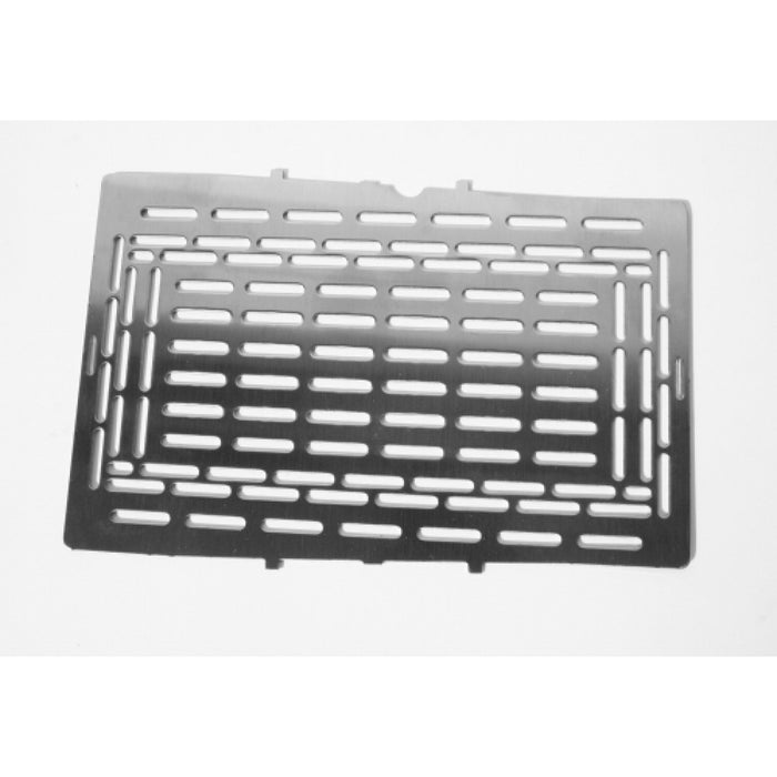 Firebox Extended Grill plate for more sufrace area for cooking food.