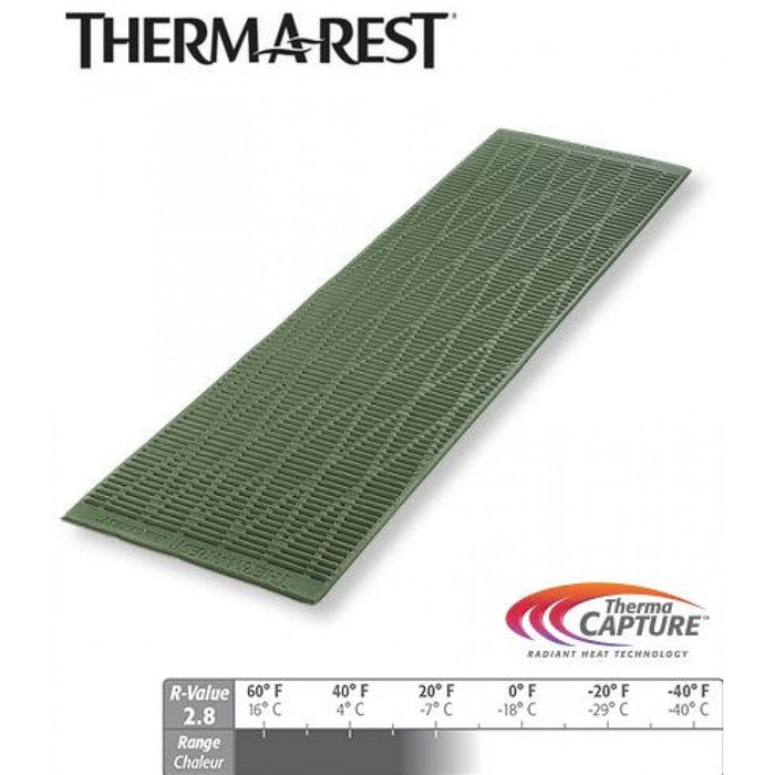 Thermarest RidgeRest Solite | (MEDIUM) Closed Cell Lightweight Sleeping Pad