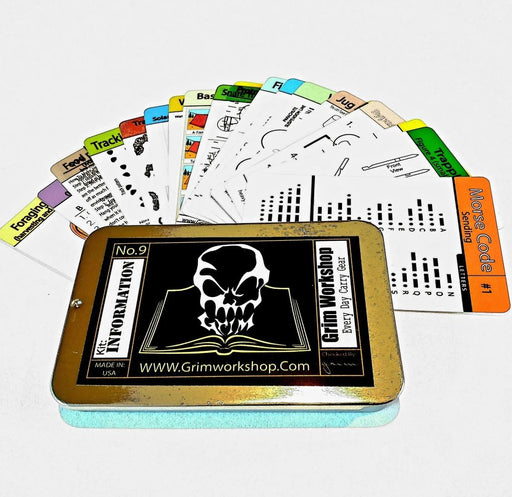 20 piece Advanced Weatherproof Survival Cards