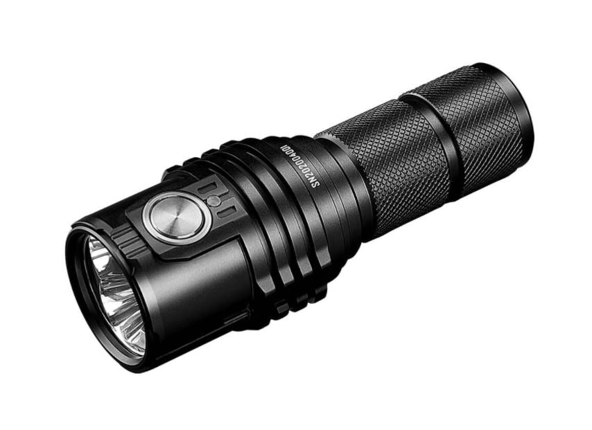 Imalent Ms03 flashlight in black.