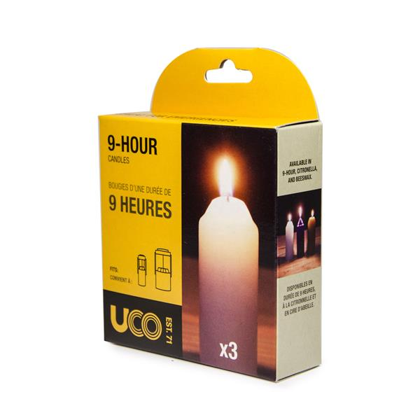 UCO 9-hour Candles (3 Pack)