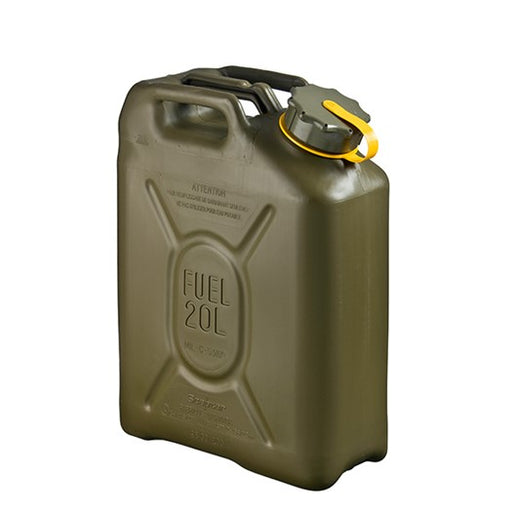 Scepter Fuel Can 20 Liters in OLIVE DRAB (MILITARY STANDARD)