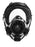 HOODED SGE 400/3- Full Face GASMASK/ Respirator With NATO 40 mm ports w/ hood
