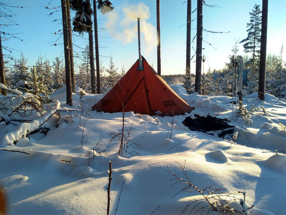 NorTent lavvo 4 - Winter Hot Tent (Woodstove Compatible) (BACKORDERED)