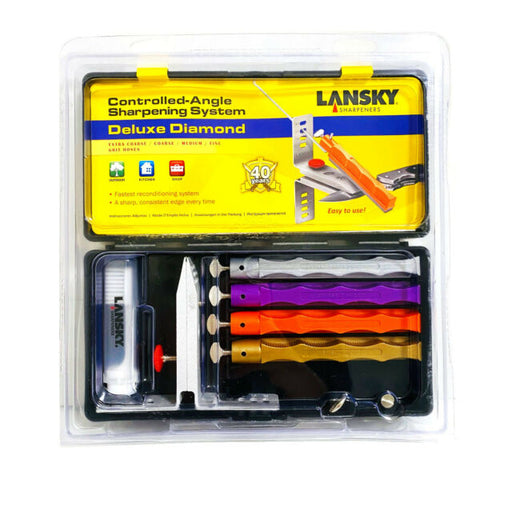 LANSKY DELUXE DIAMOND Sharpening set (controlled angle system)