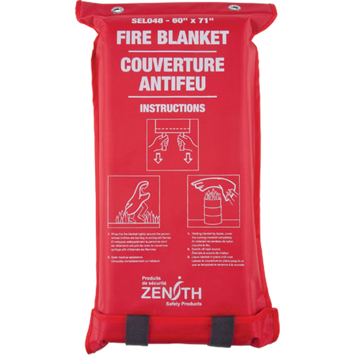"Fire Blanket (Emergency) 60"" X 71"" LARGE Zenith Safety Products"