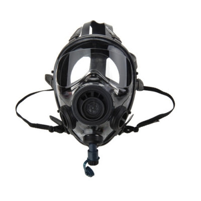 SGE 400/3- ALL ACCESSORIES Full Face GASMASK/ Respirator With NATO 40 mm ports