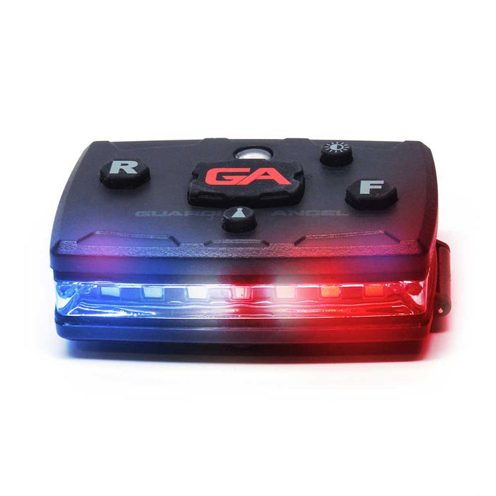 Guardian Angel - LAW ENFORCEMENT Safety Light System (Red/ Blue)