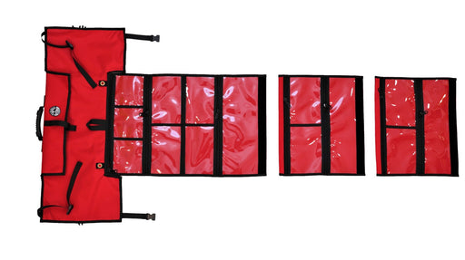 Complete FIRST AID RED ROLL System (including 2 Vinyl Modular sections) LIMITED OFFER!