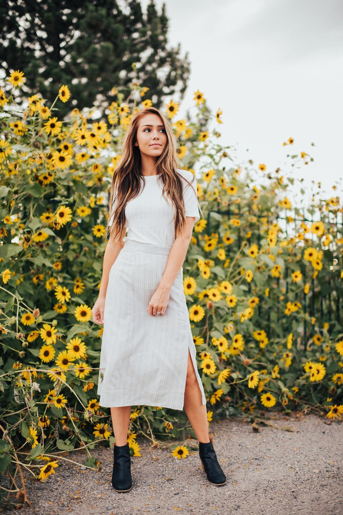 Charlotte Skirt In Grey - Dress