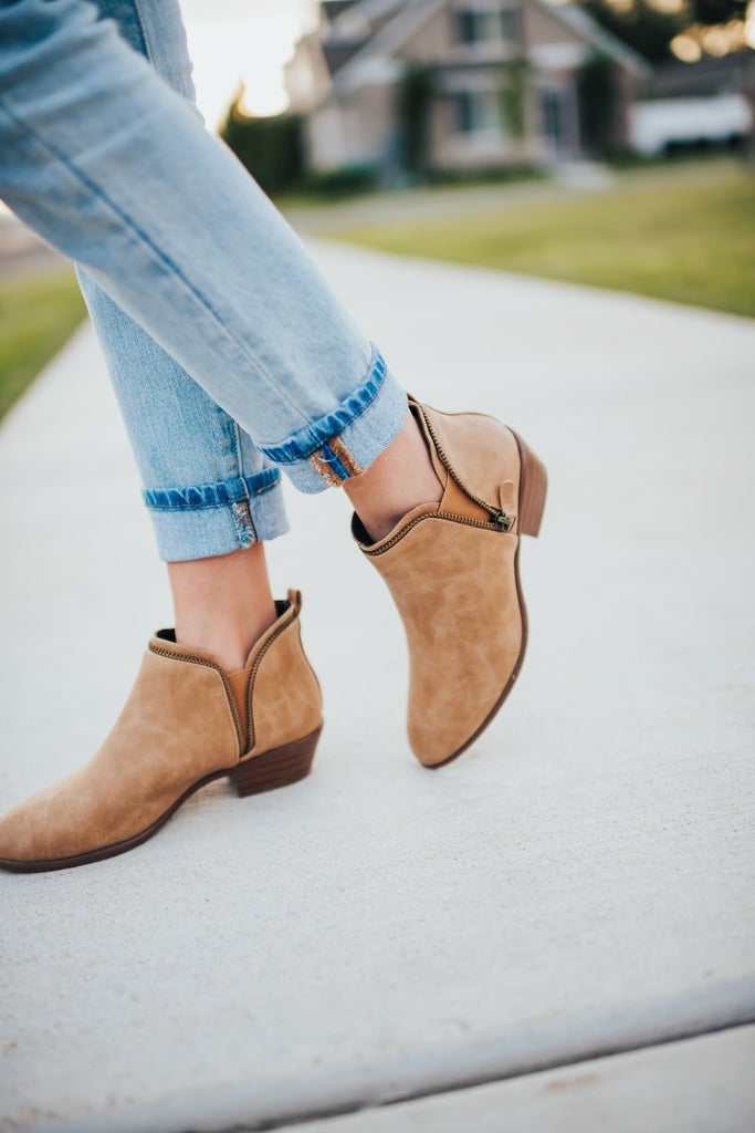 Weekend Bootie In Tan - Shoes