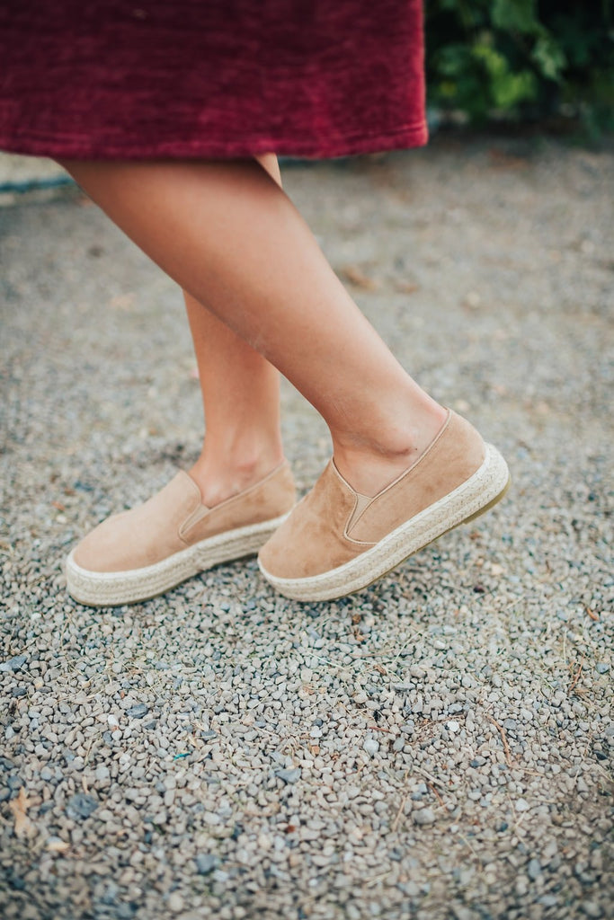 Melanie Shoe In Taupe - Shoes