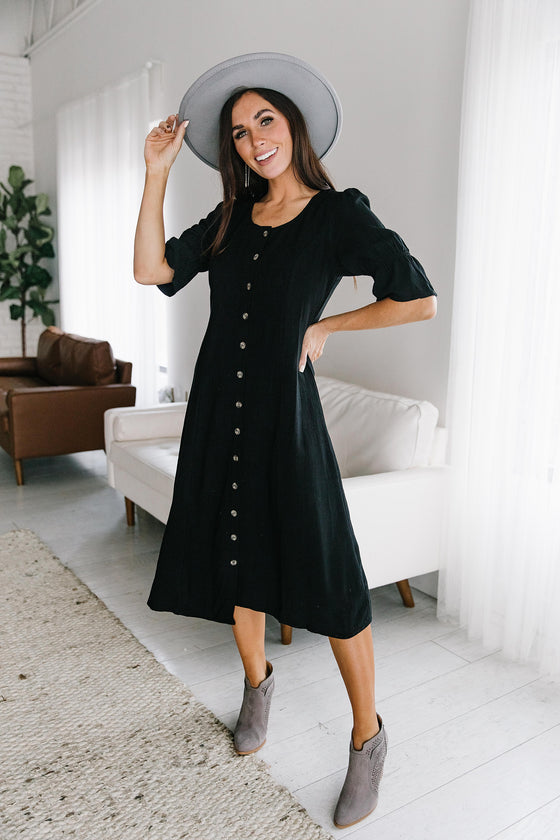 JACKSON DRESS IN BLACK