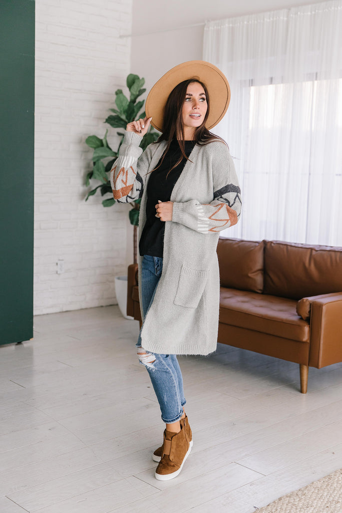 BRENTWOOD LONG CARDIGAN