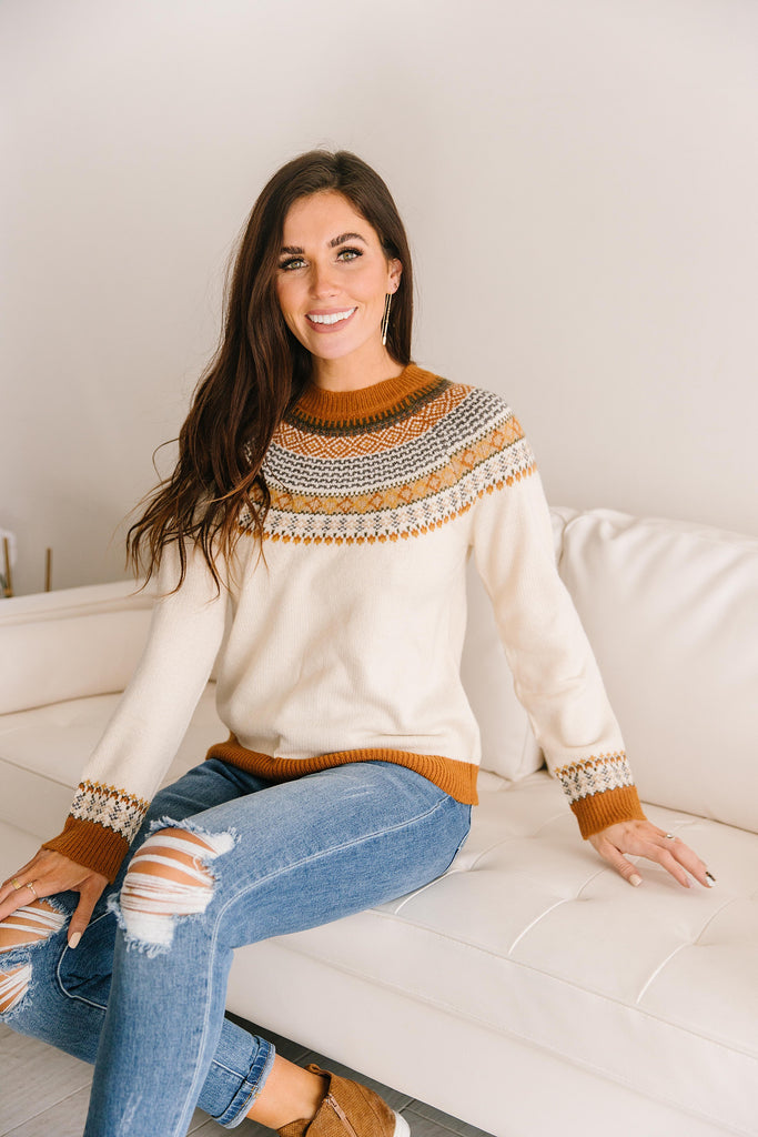 KATE JAQUARD SWEATER