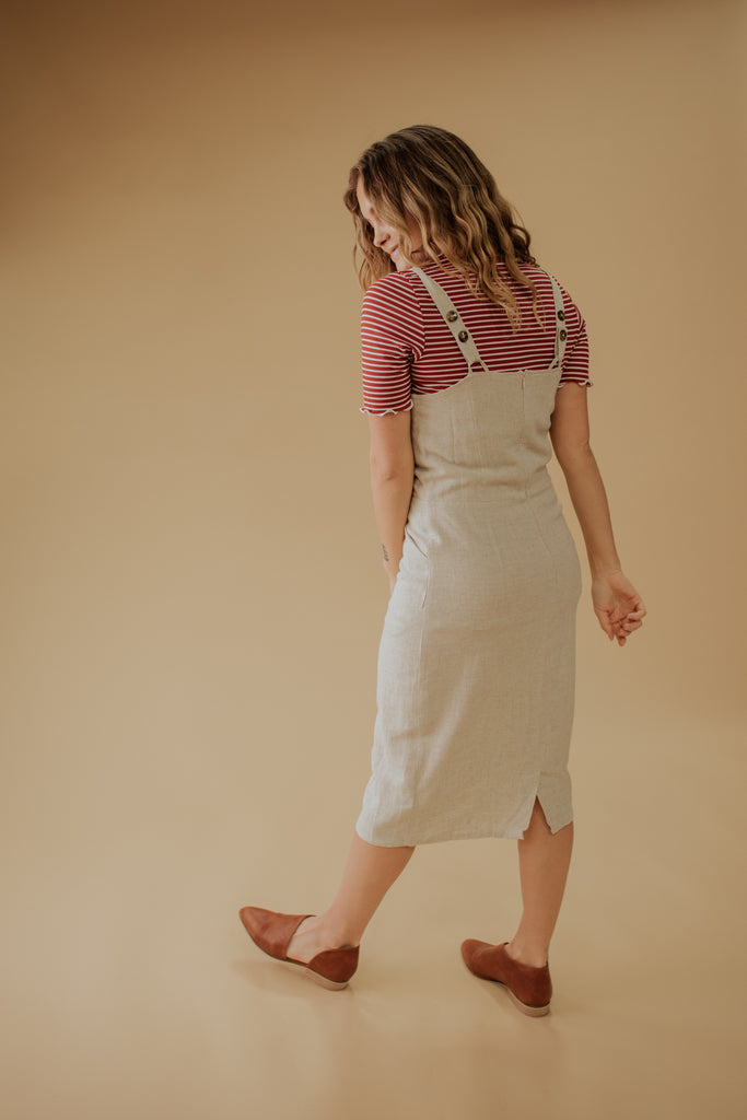 MEGAN LINEN JUMPER