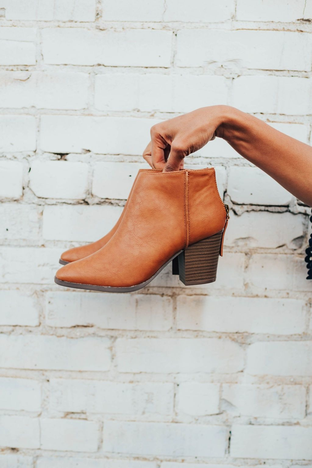 Reda Bootie In Camel - Shoes