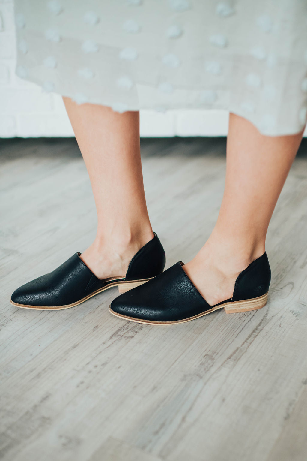 CAMILLE SHOE IN BLACK