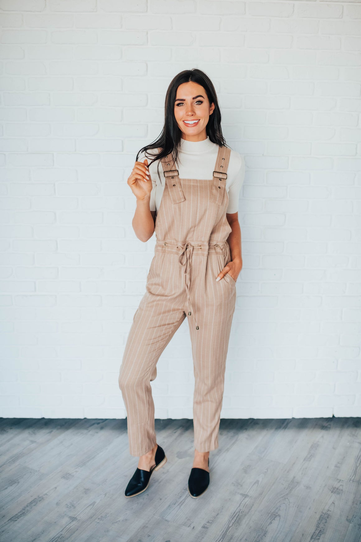 LAYLA JUMPSUIT IN CAMEL
