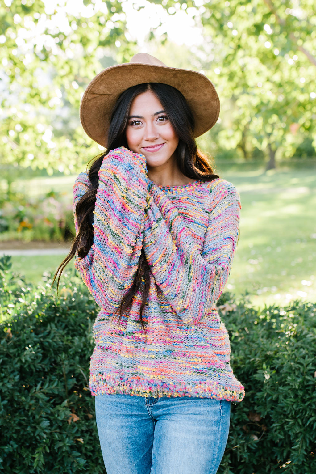 SAMMY BOLD MULTI-COLORED SWEATER