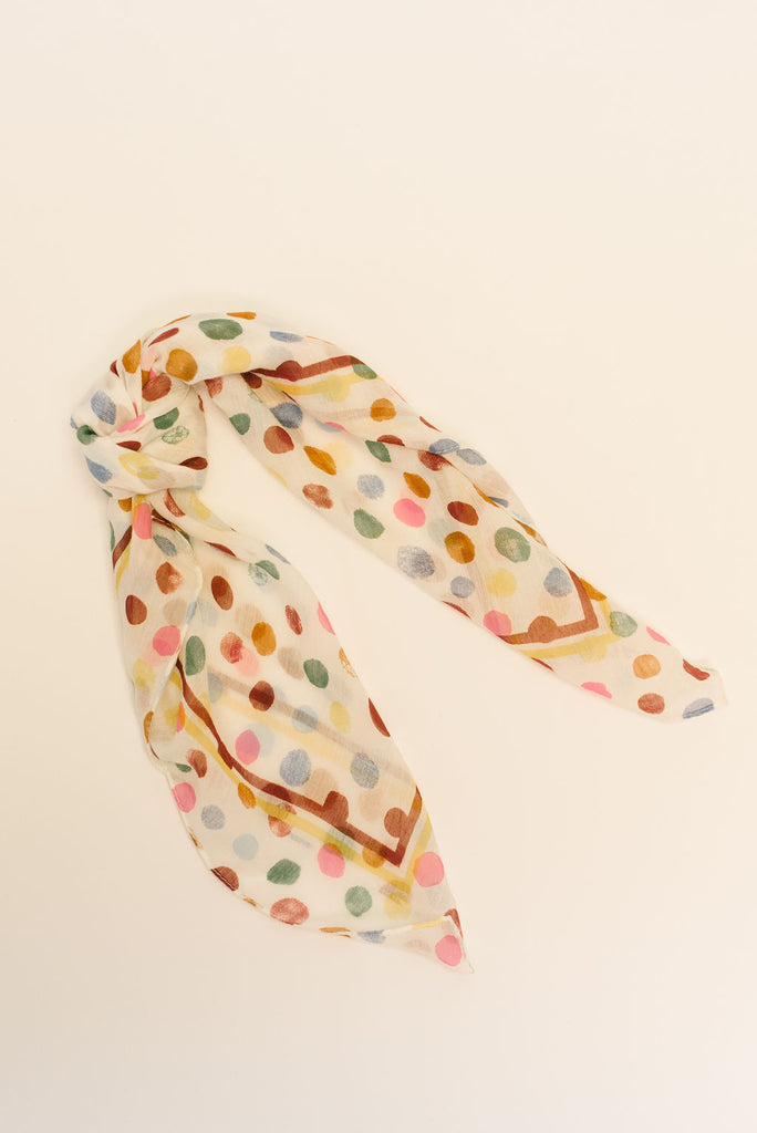 RAINBOW DOT BANDANA