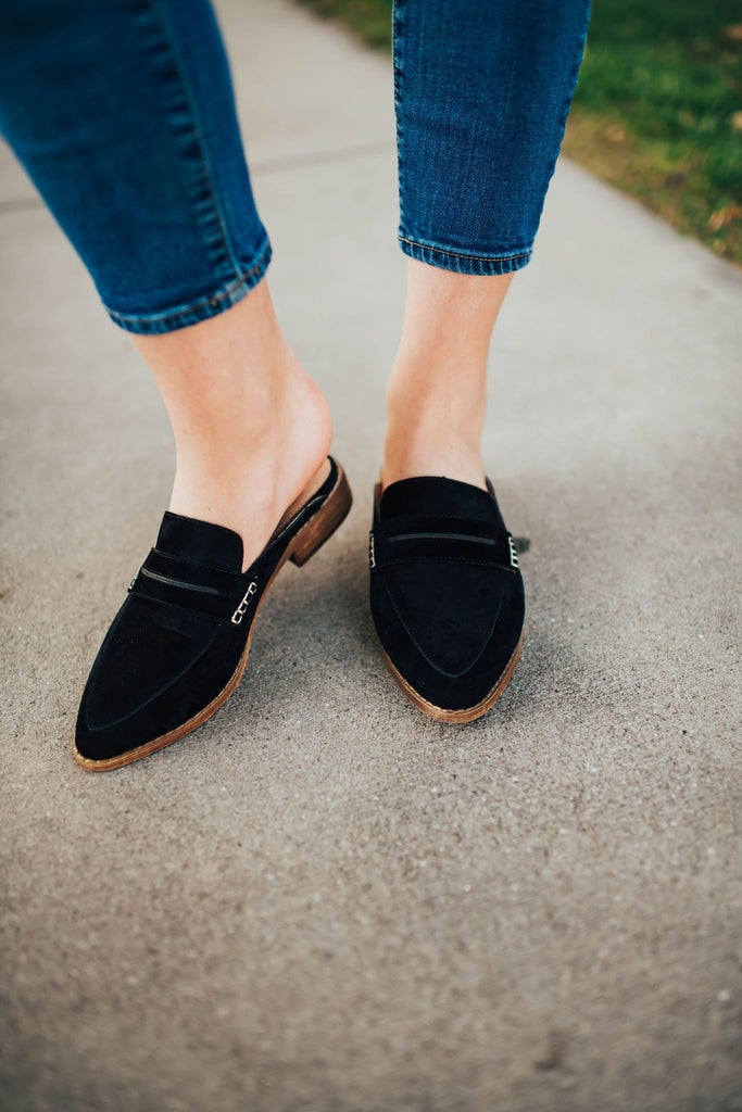 Faroe Black Slip On - Shoes