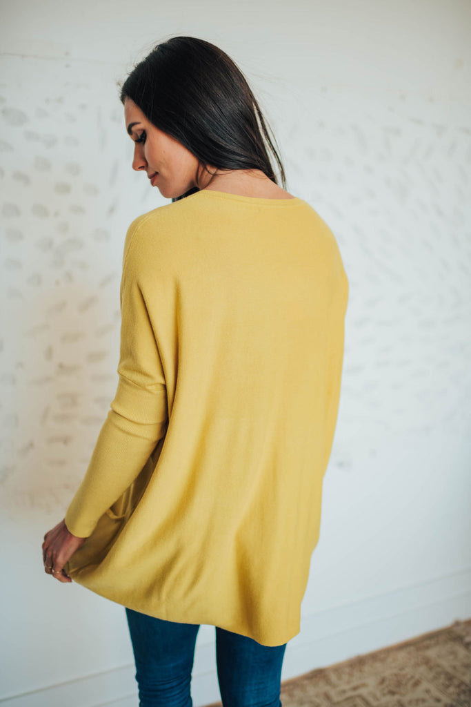 SAMANTHA SWEATER IN CITRUS