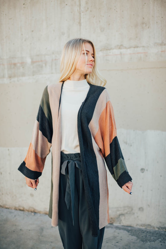 Amy Effortless Long Cardigan - Sweater