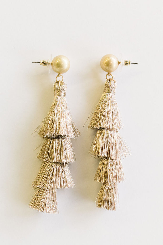 TRIED AND TRUE TASSEL-TAUPE