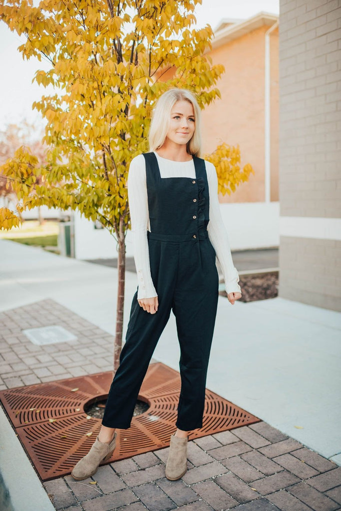 Jeni Jumpsuit In Black - Jumpsuit