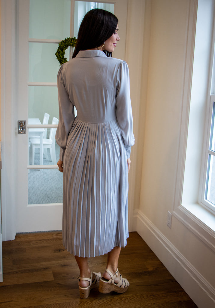 WINDCHESTER DRESS IN SILVER
