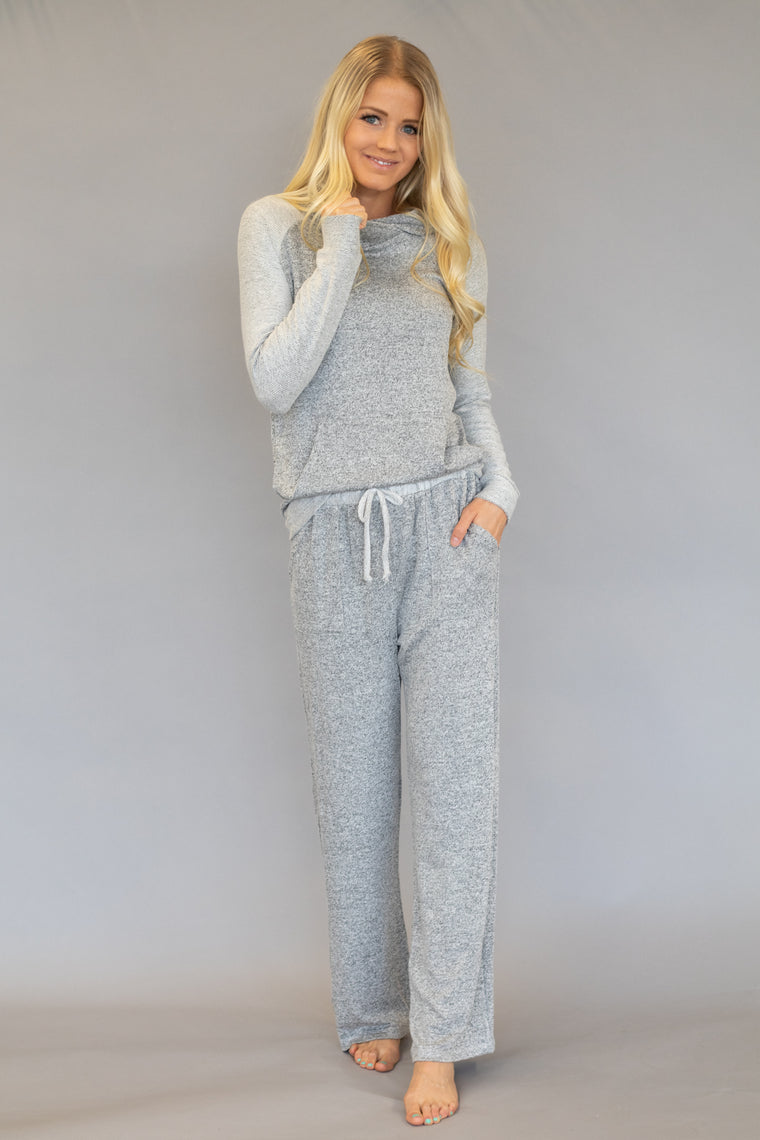 COZI LOUNGE PANTS IN GREY