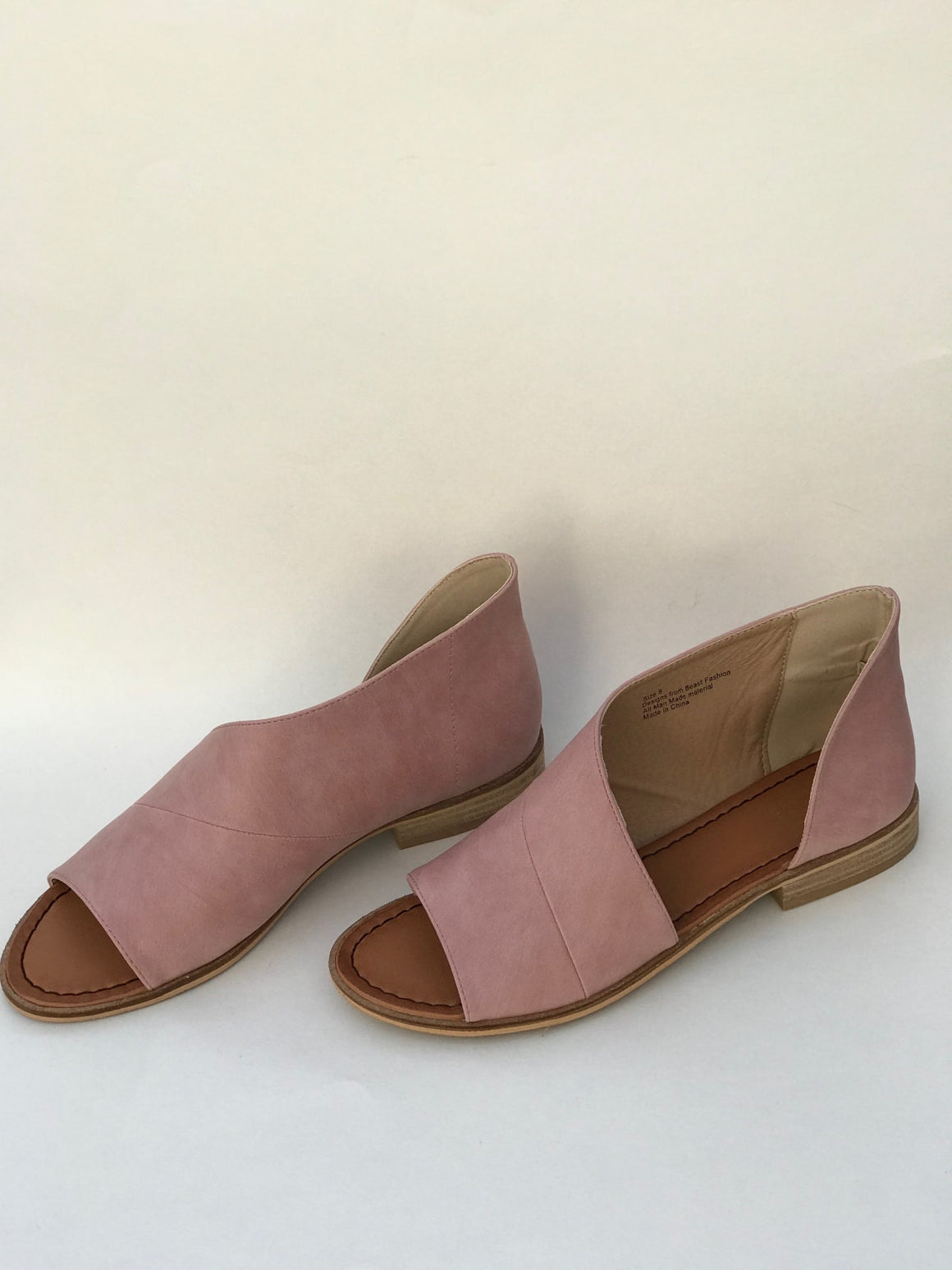 Lotus Shoe In Blush - Shoes